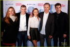 EAST HAMPTON, NY - OCTOBER 10: (L-R) Diane Farr, Frank Hall Green, Ella Purnell, Bruce Greenwood and Nolan Gerard Funk attend the Wildlike premiere during the 2014 Hamptons International Film Festival on October 10, 2014 in East Hampton, New York. (Photo by Rob Kim/Getty Images for The Hamptons International Film Festival)