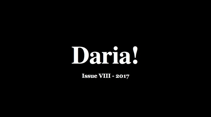 The 2017 Issue of Daria! Magazine Is Published