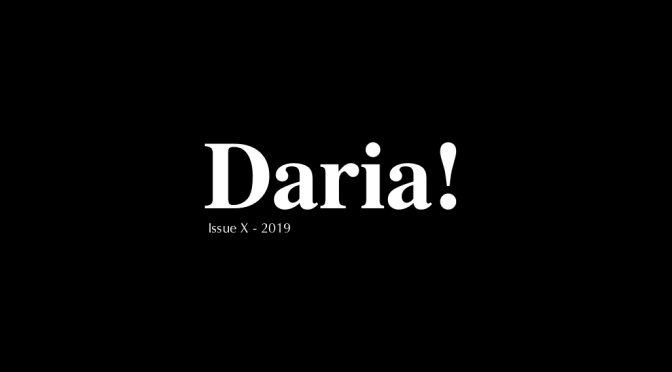 Daria! Magazine 2019 Is Published